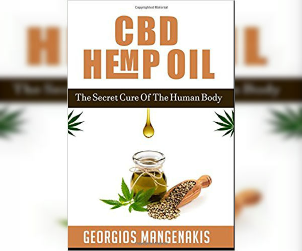The cover of CBD Hemp Oil By Georgios Mangenakis
