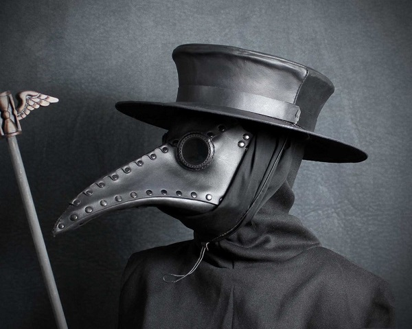This was a plague doctor's outfit. He would have had no pain relief for victims.