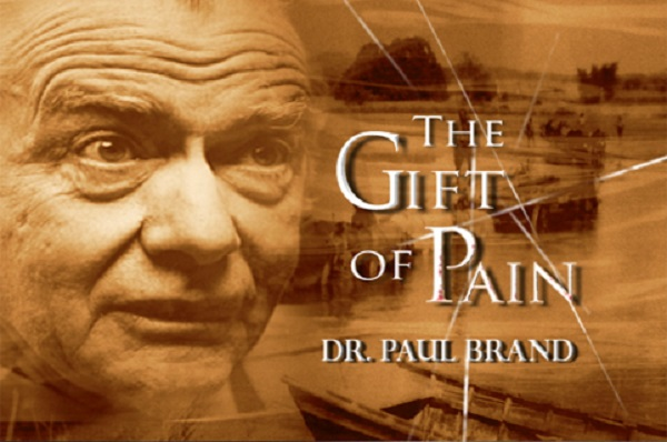 The cover of the book The Gift Of Pain By Dr Paul Brand.