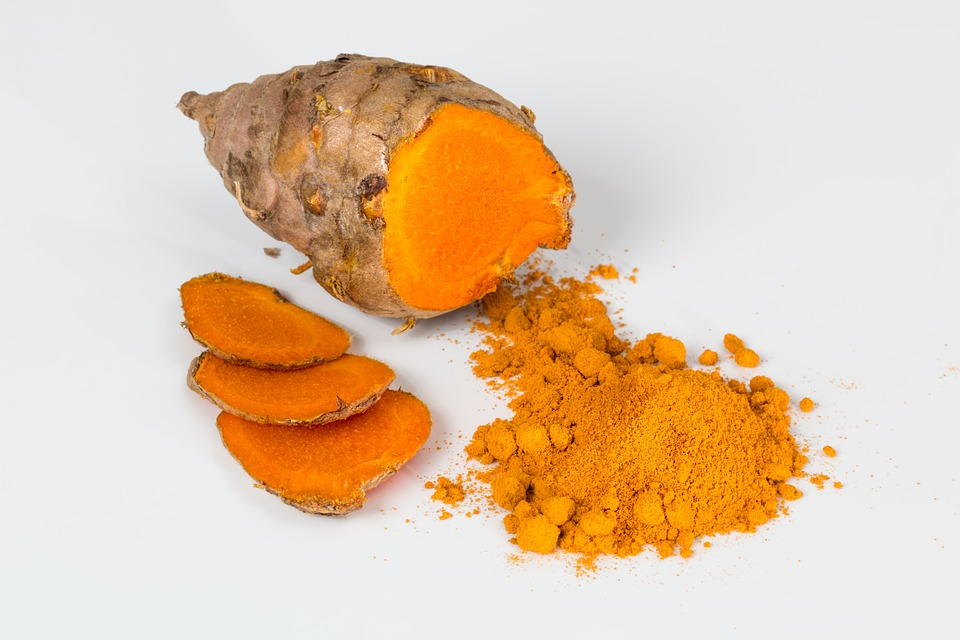 A picture of turmeric root which is a natural anti-inflammatory.