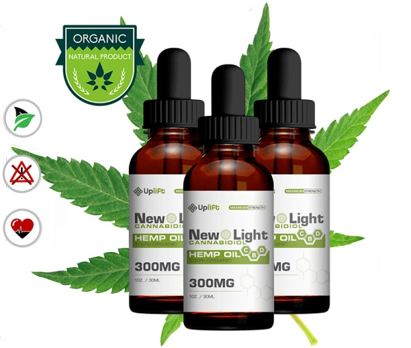 An image of the kind of CBD products that you can get from New Light.